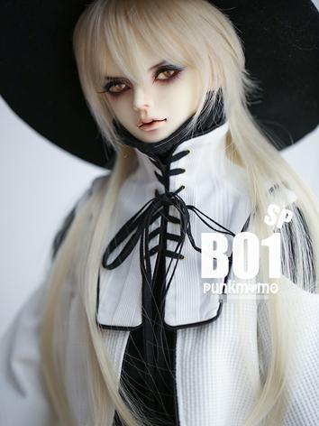 BJD Wig Gold Hair B01sp for...