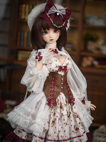 1/3 BJD Clothes Girl Dress ...
