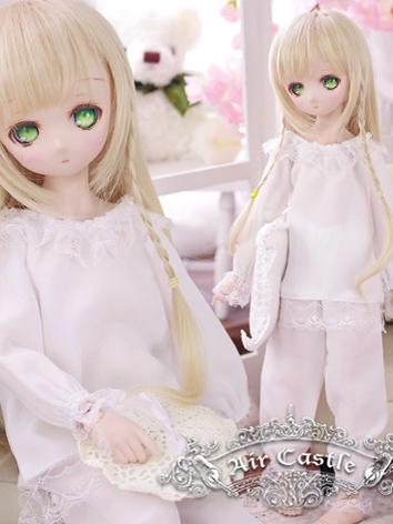 BJD Clothes MSD/MDD Girl Wh...