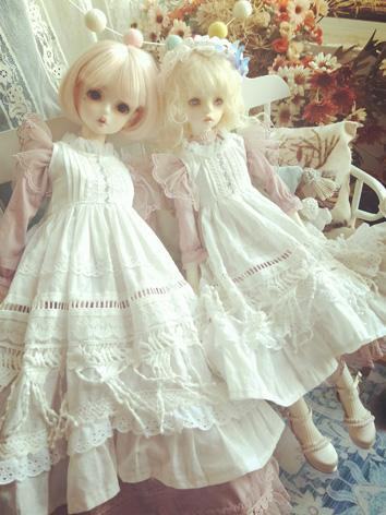 BJD Clothes Girl Sweet Dres...