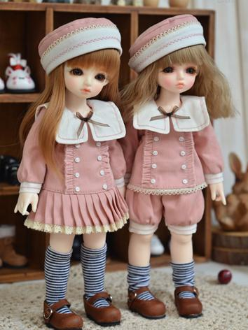 BJD Clothes Boy/Girl Pink S...