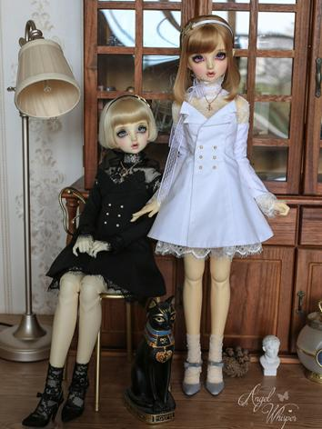 BJD Clothes Girl Black/Blue...