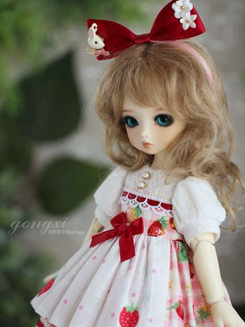 BJD Clothes Girl Strawberry...
