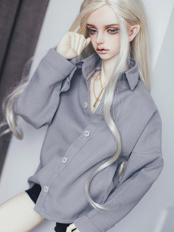 BJD Clothes Boy White/Black/Gray Shirt for SD/70CM Ball-jointed Doll