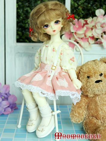 BJD Clothes Girl Skirt Set for YOSD Ball-jointed Doll