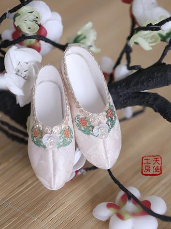 Bjd Shoes 1/3 Youth Ancient White shoes SH319071 for SD Size Ball-jointed Doll