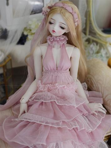 Clothes Girl Pink Long Laye...