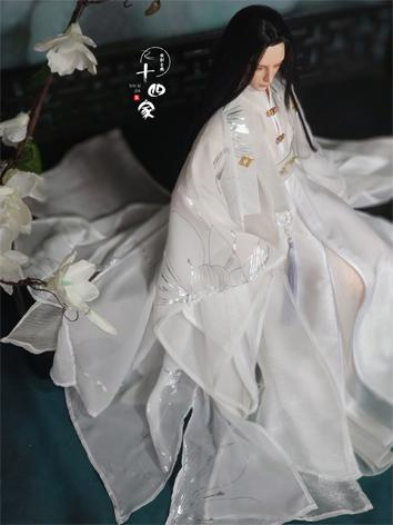 BJD Clothes Chinese White A...