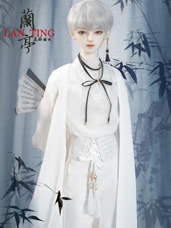 BJD Clothes Boy White Set 6...