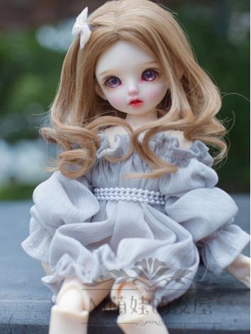 BJD Wig Girl Curly Hair for SD/MSD/YOSD Size Ball-jointed Doll