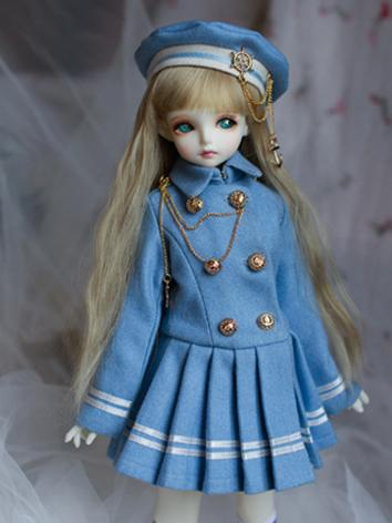 BJD Clothes Girl Set Blue S...