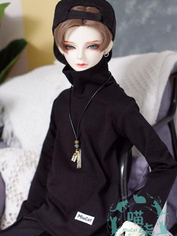 BJD Clothes Boy Black/White...