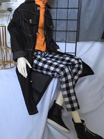 BJD Clothes Boy Black Windc...