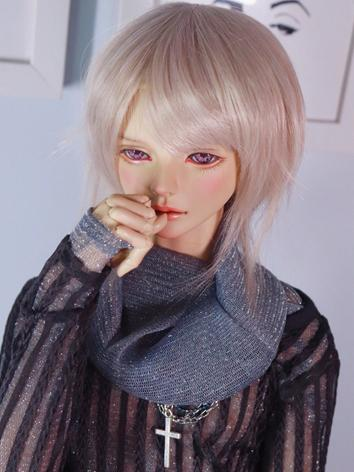 BJD Wig Boy Light Gold Hair...