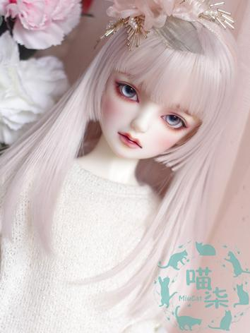 BJD Wig Boy/Girl Light Pink...