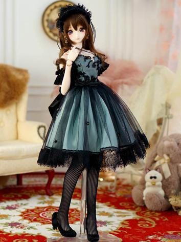 1/3 SD DD Clothes Girl Retr...