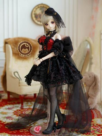 1/3 SD DD Clothes Girl Goth...
