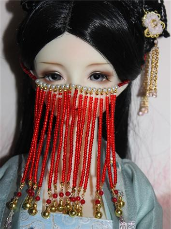 BJD Decoration Ancient Beads Facemask for SD Ball-jointed doll