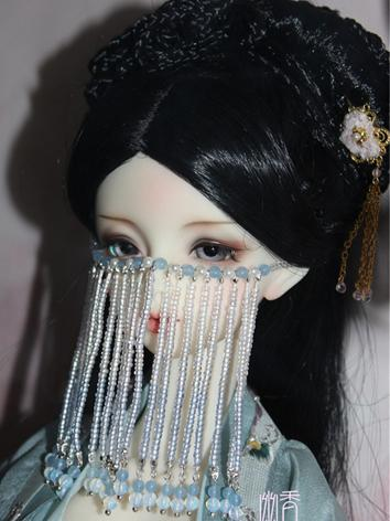 BJD Decoration Ancient Beads Facemask for SD size Ball-jointed doll