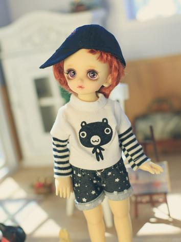 BJD Clothes Girl/Boy Shirt+...