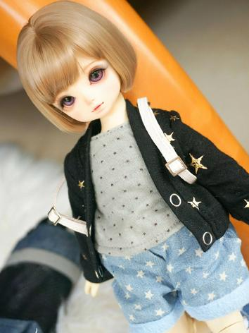 BJD Clothes Girl/Boy Black ...