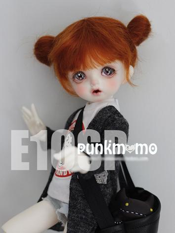 BJD Wig Girl Orange Hair E10sp for SD/MSDize Ball-jointed Doll
