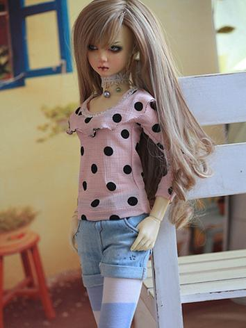 BJD Clothes Girl Shirt for ...