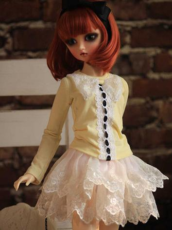BJD Clothes Female Yellow S...