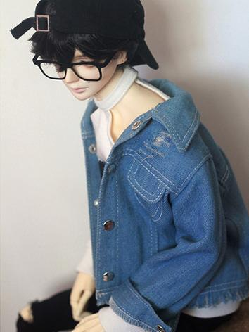 BJD Clothes Boy Jeans Coat Jacket for SD10/SD13/SD17/70cm Ball-jointed Doll