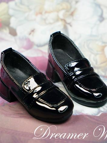 BJD 1/3 Shoes Girl White/Black Shoes for SD Ball-jointed Doll