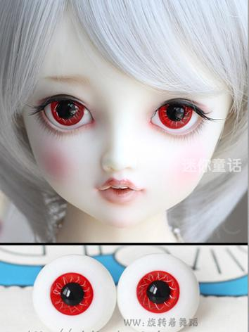 BJD EYES 12MM/14MM/16MM/18MM Red Eyeballs Ball Jointed Doll