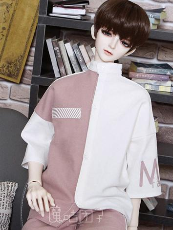 BJD Clothes Boy White T-shirt for 70cm/SD/MSD Ball-jointed Doll