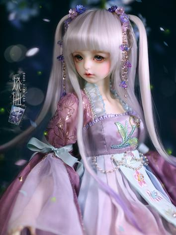 BJD 1/3 Mesona white/purple...