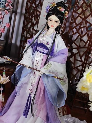 1/3 Clothes Girl Ancient Dress Outfit for SD Ball-jointed Doll