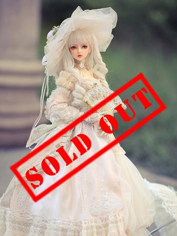 Bjd Clothes 1/3 Female Europe Dress fullset- CL3180528 for SD Ball-jointed Doll