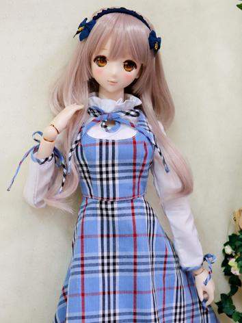 BJD Clothes Outfit Girl Blu...