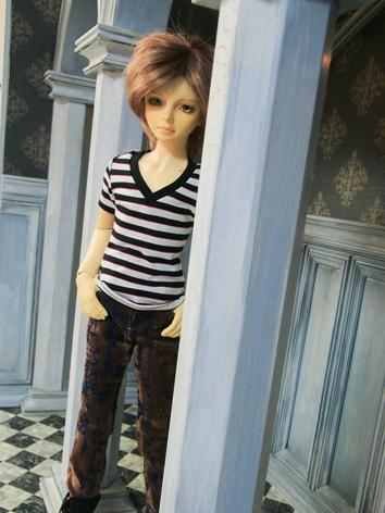 BJD Clothes boy black and w...