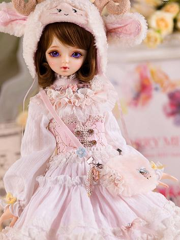 Bjd Clothes AS 1/4 European clothes-Dawn-Cute sheep suit CL4151216 for MSD Ball-jointed Doll