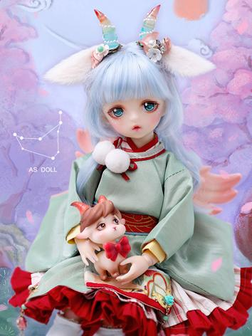 Bjd Clothes 1/6 Capricornus with Japanese style costume  CL62620181122 for YOSD Ball-jointed Doll