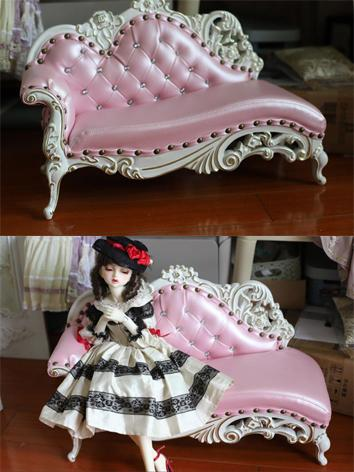 BJD Furniture Pink Sofa Cou...