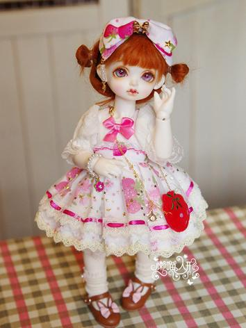 BJD Clothes Girl Dress Suit for YOSD Ball-jointed Doll