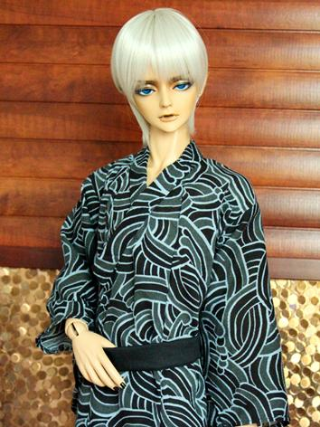 BJD Clothes Boy Yukata Kimino Outfit for 70cm/SD/MSD size Ball-jointed Doll