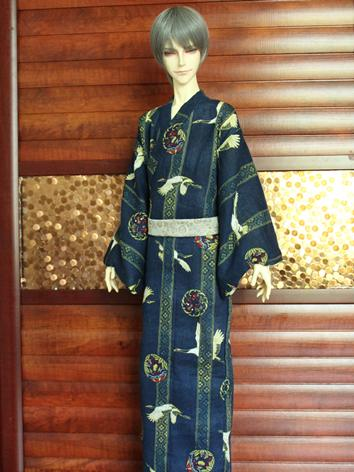 BJD Clothes Boy Dark Blue P...