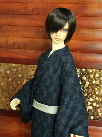 BJD Clothes Boy Retro Yukata Kimino Outfit for 70cm/SD/MSD/YOSD size Ball-jointed Doll