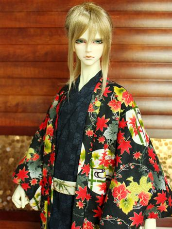 BJD Clothes Boy Black Yukut...