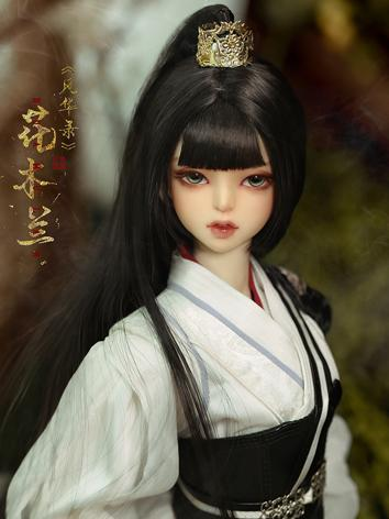 (AS Agency)Limited Edition BJD Hua Mulan-White Version 62cm Ball-Jointed Doll