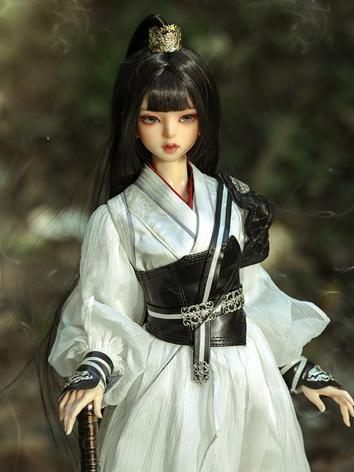 BJD Outfit 1/3 female Chinese classical style outfits-White CL31903251 for SD Ball-jointed Doll