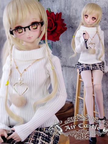 BJD Clothes DD/SD10/SD13 size Girl Sweater+Skirt Set Ball-jointed Doll