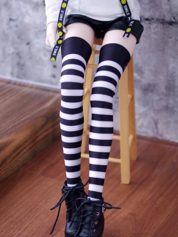 Bjd Socks Girl Lady Cross S...