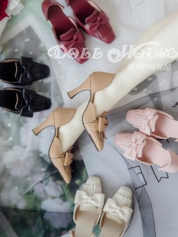 Bjd Shoes 1/3 Girl White/Kh...